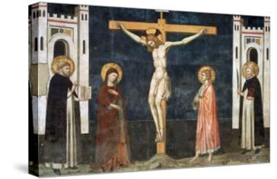 Crucifixion-Pietro Cavallini-Stretched Canvas Print