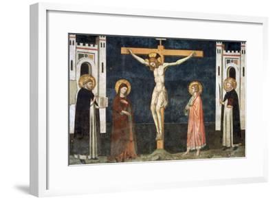 Crucifixion-Pietro Cavallini-Framed Giclee Print