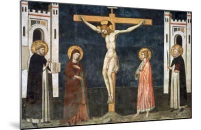 Crucifixion-Pietro Cavallini-Mounted Giclee Print