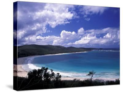 Soni Beach on Culebra Island, Puerto Rico-Michele Molinari-Stretched Canvas Print