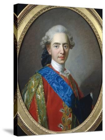Louis XVI of France-Louis-Michel van Loo-Stretched Canvas Print