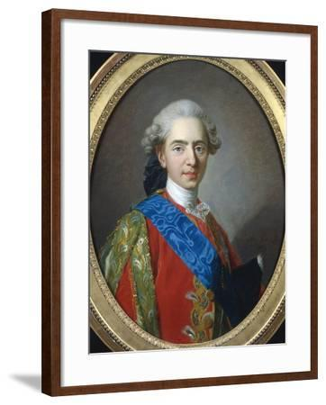 Louis XVI of France-Louis-Michel van Loo-Framed Giclee Print