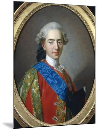 Louis XVI of France-Louis-Michel van Loo-Mounted Giclee Print