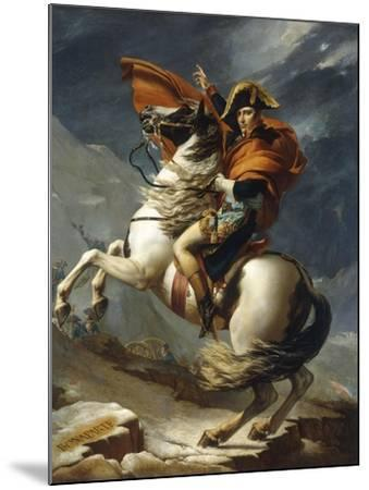 Napoleon Crossing the Alps-Jacqueline David-Mounted Giclee Print