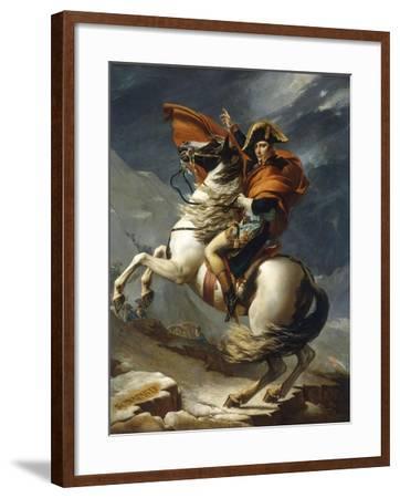 Napoleon Crossing the Alps-Jacqueline David-Framed Giclee Print