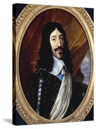 Louis XIII-Philippe De Champaigne-Stretched Canvas Print