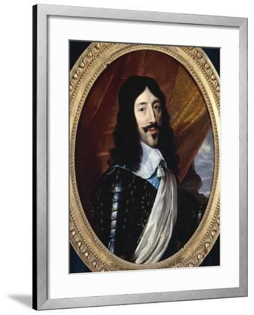 Louis XIII-Philippe De Champaigne-Framed Giclee Print