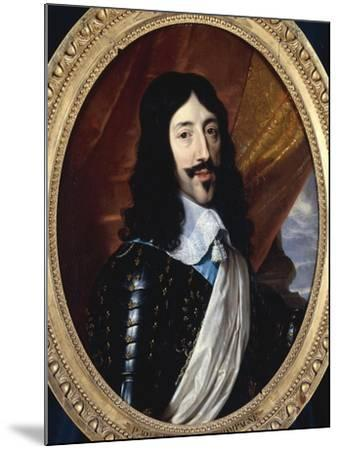 Louis XIII-Philippe De Champaigne-Mounted Giclee Print