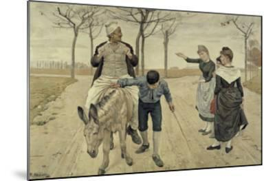The Miller, His Son and the Donkey-Ferdinand Hodler-Mounted Giclee Print