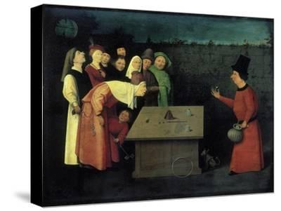 The Conjuror-Hieronymus Bosch-Stretched Canvas Print