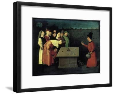 The Conjuror-Hieronymus Bosch-Framed Giclee Print