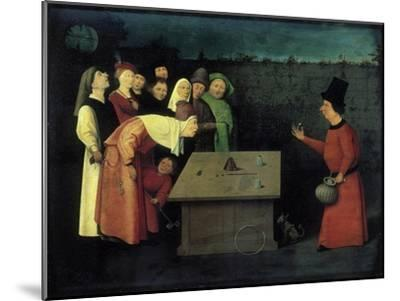The Conjuror-Hieronymus Bosch-Mounted Giclee Print
