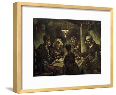 The Potato Eaters-Vincent van Gogh-Framed Giclee Print