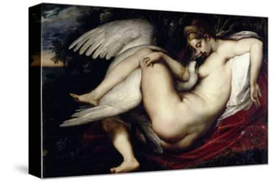 Leda and the Swan-Peter Paul Rubens-Stretched Canvas Print