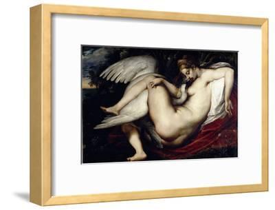 Leda and the Swan-Peter Paul Rubens-Framed Giclee Print