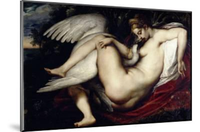 Leda and the Swan-Peter Paul Rubens-Mounted Giclee Print