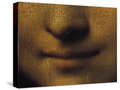 Mona Lisa-Leonardo da Vinci-Stretched Canvas Print