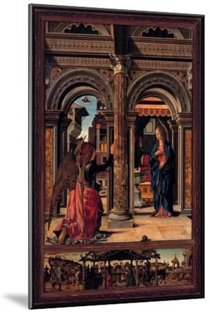 Annunciation-Francesco del Cossa-Mounted Giclee Print