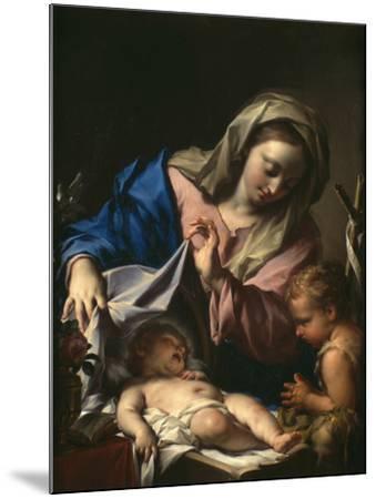 Madonna With Child and Saint John-Francesco Trevisani-Mounted Giclee Print