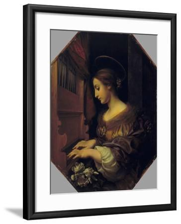 St. Cecilia-Carlo Dolci-Framed Giclee Print