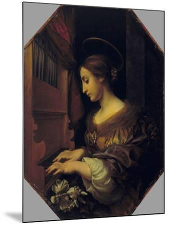 St. Cecilia-Carlo Dolci-Mounted Giclee Print