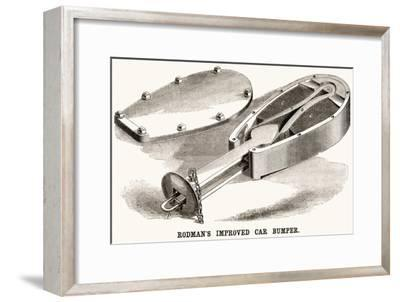 Rodman's Improved Car Bumper--Framed Art Print