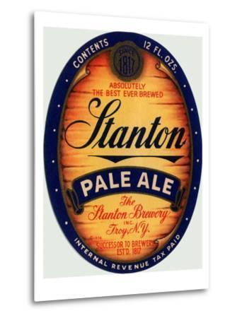 Stanton Pale Ale Beer--Metal Print