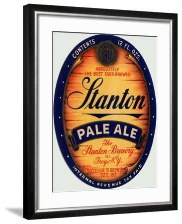 Stanton Pale Ale Beer--Framed Art Print