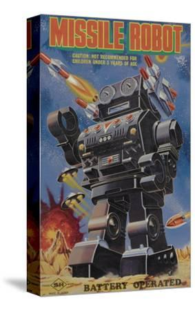 Missile Robot--Stretched Canvas Print