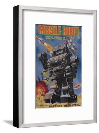 Missile Robot--Framed Art Print