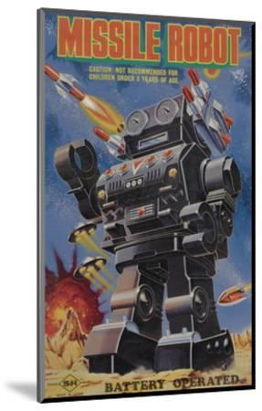 Missile Robot--Mounted Art Print
