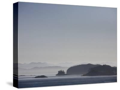 Misty Afternoon on Haida Gwaii-Taylor S^ Kennedy-Stretched Canvas Print