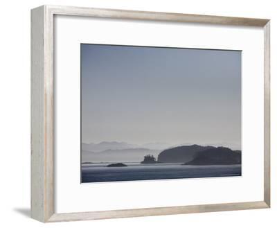Misty Afternoon on Haida Gwaii-Taylor S^ Kennedy-Framed Photographic Print