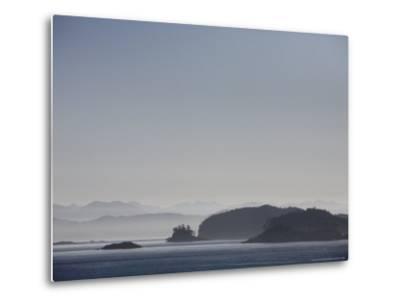 Misty Afternoon on Haida Gwaii-Taylor S^ Kennedy-Metal Print