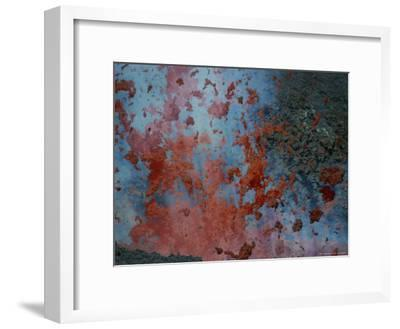Close View of Lava Exploding From a New Cone on Mount Etna-Peter Carsten-Framed Photographic Print