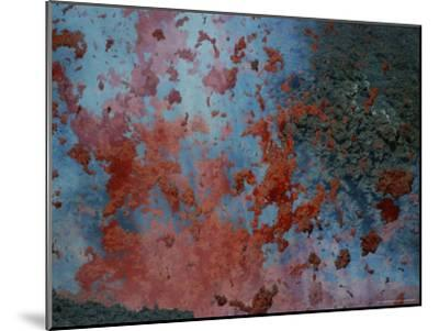 Close View of Lava Exploding From a New Cone on Mount Etna-Peter Carsten-Mounted Photographic Print