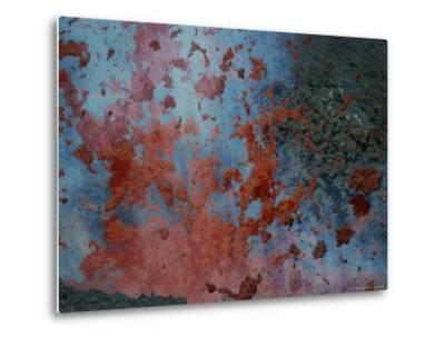 Close View of Lava Exploding From a New Cone on Mount Etna-Peter Carsten-Metal Print