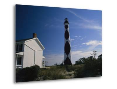 Cape Lookout Light, Prototype For All Outer Banks Lighthouses-Raymond Gehman-Metal Print