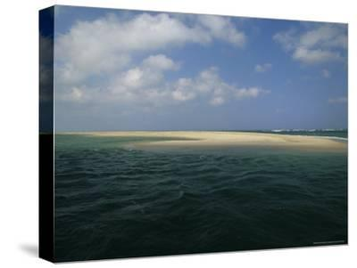 Mouth of the Nauset Marsh and Bigger Waters-Michael Melford-Stretched Canvas Print