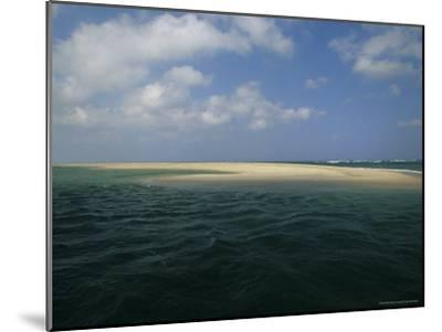 Mouth of the Nauset Marsh and Bigger Waters-Michael Melford-Mounted Photographic Print