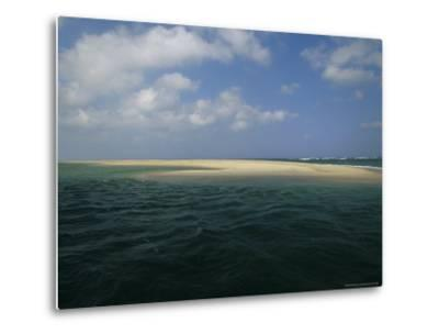 Mouth of the Nauset Marsh and Bigger Waters-Michael Melford-Metal Print