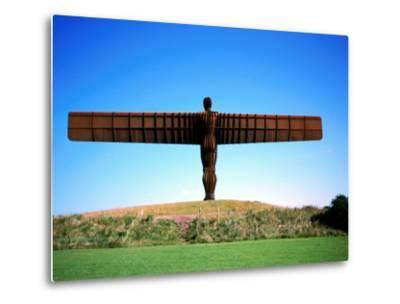 Giant Steel Structure of 'the Angel of the North-David Else-Metal Print