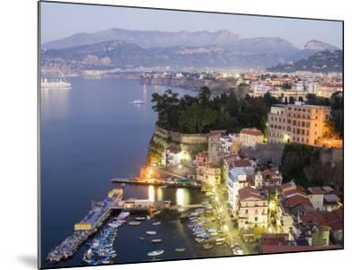 Sorrento at Dusk-Greg Elms-Mounted Photographic Print
