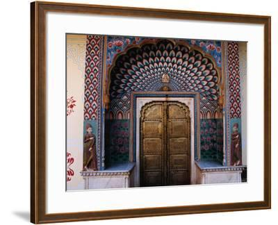 Lotus Gate in Pitam Niwas Chowk in City Palace-Richard I'Anson-Framed Photographic Print