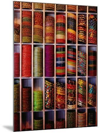 Bangle Shop at Tripolia Bazaar-Richard I'Anson-Mounted Photographic Print