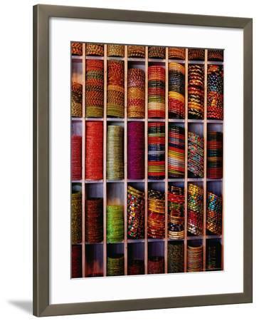 Bangle Shop at Tripolia Bazaar-Richard I'Anson-Framed Photographic Print