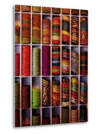 Bangle Shop at Tripolia Bazaar-Richard I'Anson-Metal Print