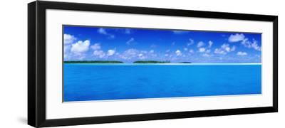 Aitutaki Lagoon-Holger Leue-Framed Photographic Print