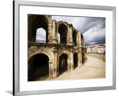 Roman Amphitheatre, Les Arenes-Glenn Beanland-Framed Photographic Print