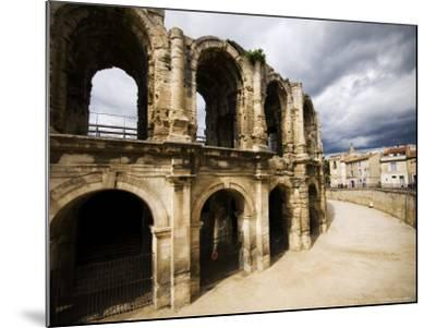 Roman Amphitheatre, Les Arenes-Glenn Beanland-Mounted Photographic Print